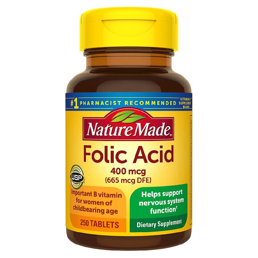 Nature Made Folic Acid Walgreens