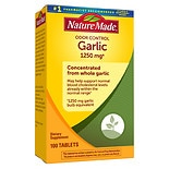 Nature Made Odor Control Garlic, 1250mg Garlic Equivalent, Tablets