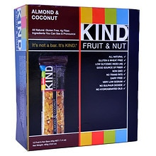 KIND Fruit + Nut Nutrition Bars Almond & Coconut