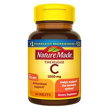 Nature Made Vitamin C 1000 mg Dietary Supplement Tablets