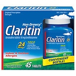 Claritin Non-Drowsy 24 Hour Indoor & Outdoor Allergies, Tablets