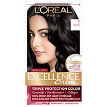 L'Oreal Excellence Triple Protection Permanent Hair Color Creme Black 1