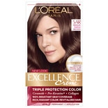 L'Oreal Excellence Triple Protection Permanent Hair Color Creme Medium Maple Brown 5AR