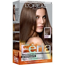 L'Oreal Paris Feria Permanent Haircolour Gel Havana Brown 50
