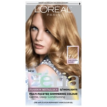 Permanent Haircolour Gel, Golden Sunset 73