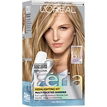L'Oreal Paris Feria Multi-Faceted Shimmering Hair Highlighting Kit Star Light Extremely Light Blonde C100