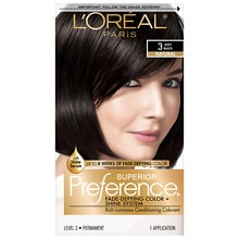 Permanent Hair Color, Soft Black 3