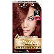 L'Oreal Paris Preference Permanent Hair Color Dark Auburn 4R