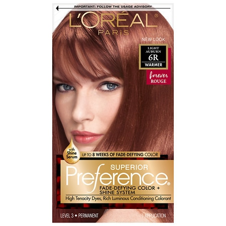 L'Oreal Paris Preference Fade Defying Color & Shine System, Permanent