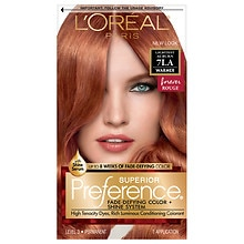 Permanent Hair Color, Lightest Auburn 7LA