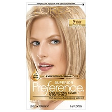L'Oreal Paris Preference Permanent Hair Color Natural Blonde 9