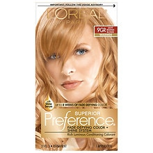 Permanent Hair Color, LT Golden Reddish Blonde 9GR