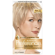 L'Oreal Paris Preference Permanent Hair Color Lightest Ash Blonde 9.5A