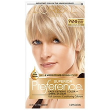 L'Oreal Paris Preference Permanent Hair Color Lightest Natural Blonde 9.5NB
