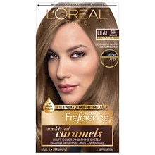 L'Oreal Paris Preference Les True Brunettes Permanent Hair Color Ultra Light Ash Brown UL 61