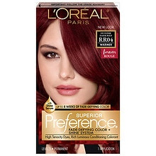 L'Oreal Paris Preference Permanent Hair Color Intense Dark Red RR-04