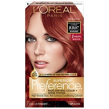 L'Oreal Paris Preference Permanent Hair Color Intense Red Copper RR-07