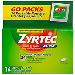 Zyrtec 10 mg 24 Hour Allergy Tablets