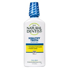 The Natural Dentist Healthy Teeth Anti-Cavity Fluoride Rinse Fresh Mint