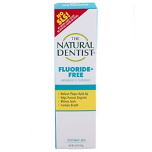 The Natural Dentist Healthy Teeth & Gums Fluoride Free Toothpaste Peppermint Sage