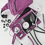 BV Medical Fanny Pack Blood Pressure Combo Kit Burgundy