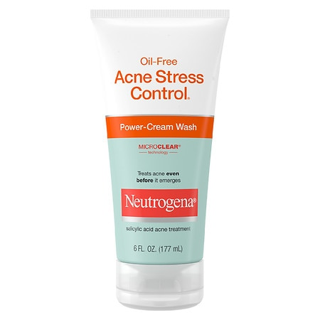 Neutrogena Oil-Free Acne Stress Control Power-Cream Wash