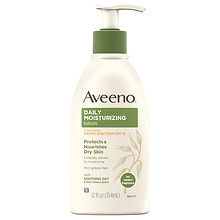 Aveeno Active Naturals Daily Moisturizing Lotion with Sunscreen SPF 15 SPF 15