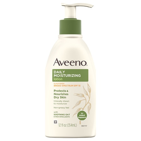 Aveeno Active Naturals Daily Moisturizing Lotion SPF 15