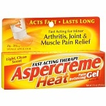 Aspercreme Heat Pain Relieving Gel