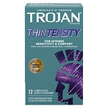 Trojan Lubricated Latex Condoms, Thintensity UltraSmooth