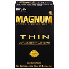 Thin Large Size Lubricated Premium Latex CondomsLarge