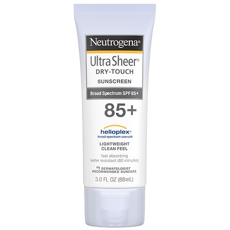 Neutrogena Ultra Sheer Dry-Touch Sunscreen, SPF 85