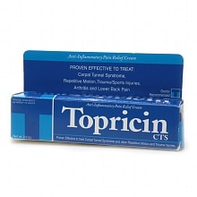 Topricin Anti-Inflammatory Pain Relief Cream Tube