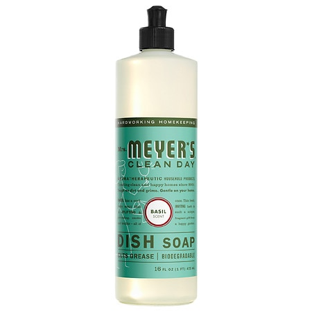 Mrs. Meyer's Clean Day Liquid Dish Soap Basil