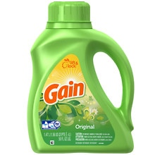 Gain Laundry Detergent Liquid Original Fresh