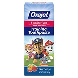 Orajel Toddler Toddler Training Toothpaste Tooty Fruity Flavor