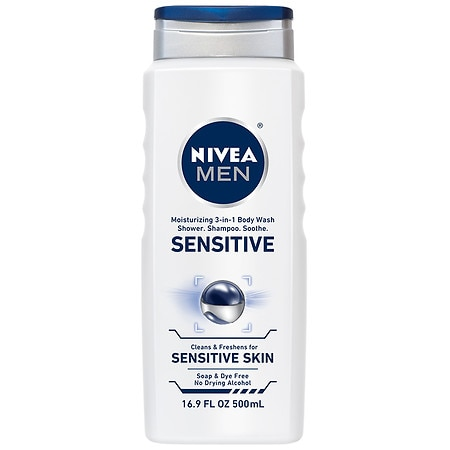 Nivea Men Hair & Body Wash Sensitive