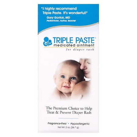 Triple Paste Medicated Diaper Rash Ointment