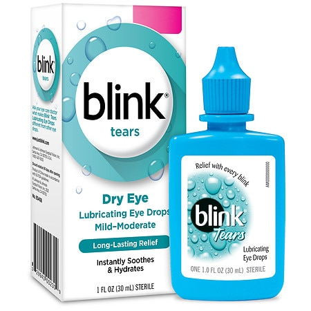 Blink Tears Lubricating Eye Drops