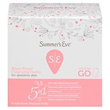 Summer's Eve Cleansing Cloths for Sensitive Skin Sheer Floral