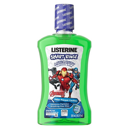 LISTERINE Smart Rinse Mint Shield