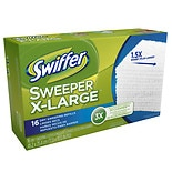 Swiffer Sweeper Professional Dry Sweep Cloths Mop, Broom Floor Cleaner Refills X Large Unscented