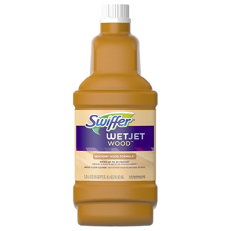 Swiffer WetJet Wood Floor Cleaner Solution Refill