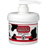 Udderly Smooth Udder Cream with Pump Dispenser Lightly Scented