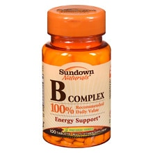 B Complex Multivitamin Supplement Tablets