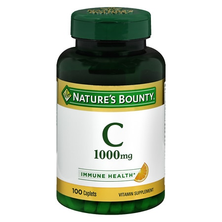 Nature's Bounty Pure Vitamin C 1000mg Caplets