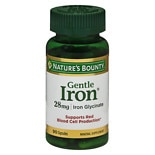 Nature's Bounty Gentle Iron, 28mg, Capsules