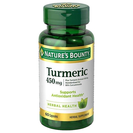 Nature's Bounty Turmeric Capsules 60ct