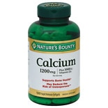 Nature's Bounty Calcium 1200 mg plus Vitamin D3 1000 IU Dietary Supplement Softgels