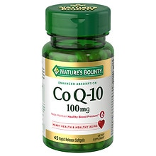 Nature's Bounty Q-Sorb CoQ10, 100mg, Softgels